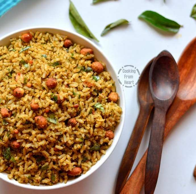 Karuveppilai Sadam | Spicy Curry Leaves Rice
