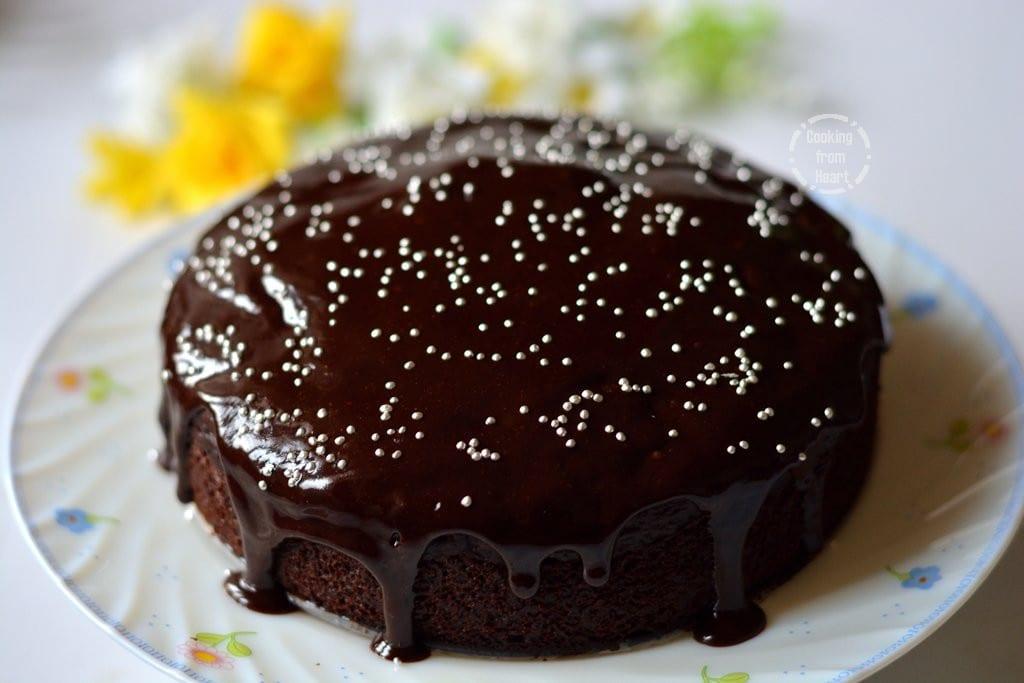 Recipe cake cocoa powder