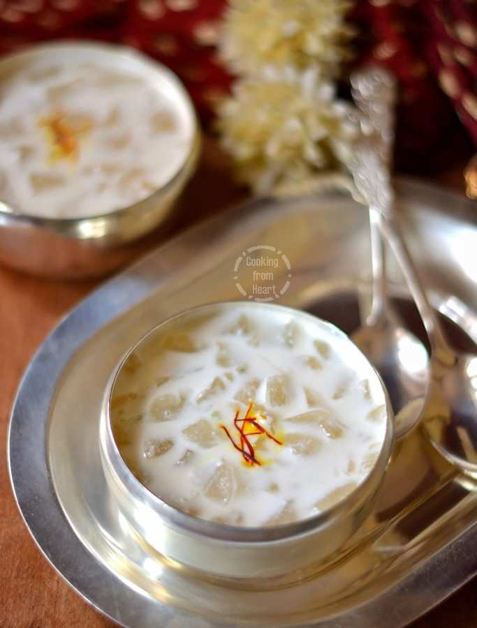 Nungu Payasam | Ice Apple Kheer