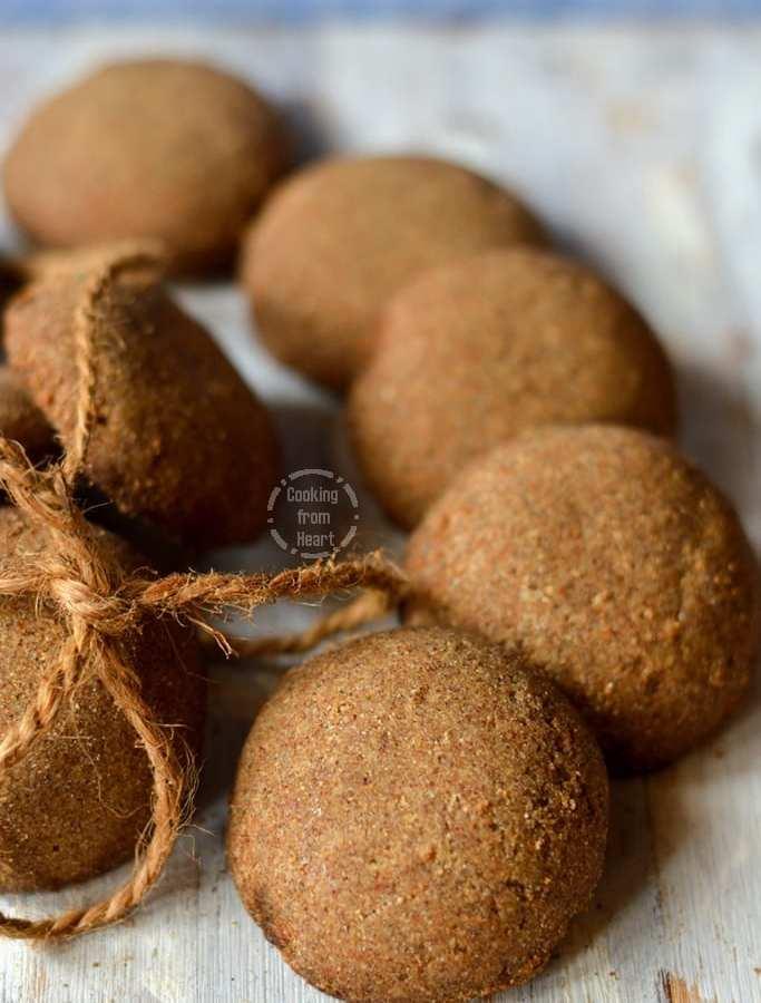 Millet Cookies | Vegan Millet Cookies