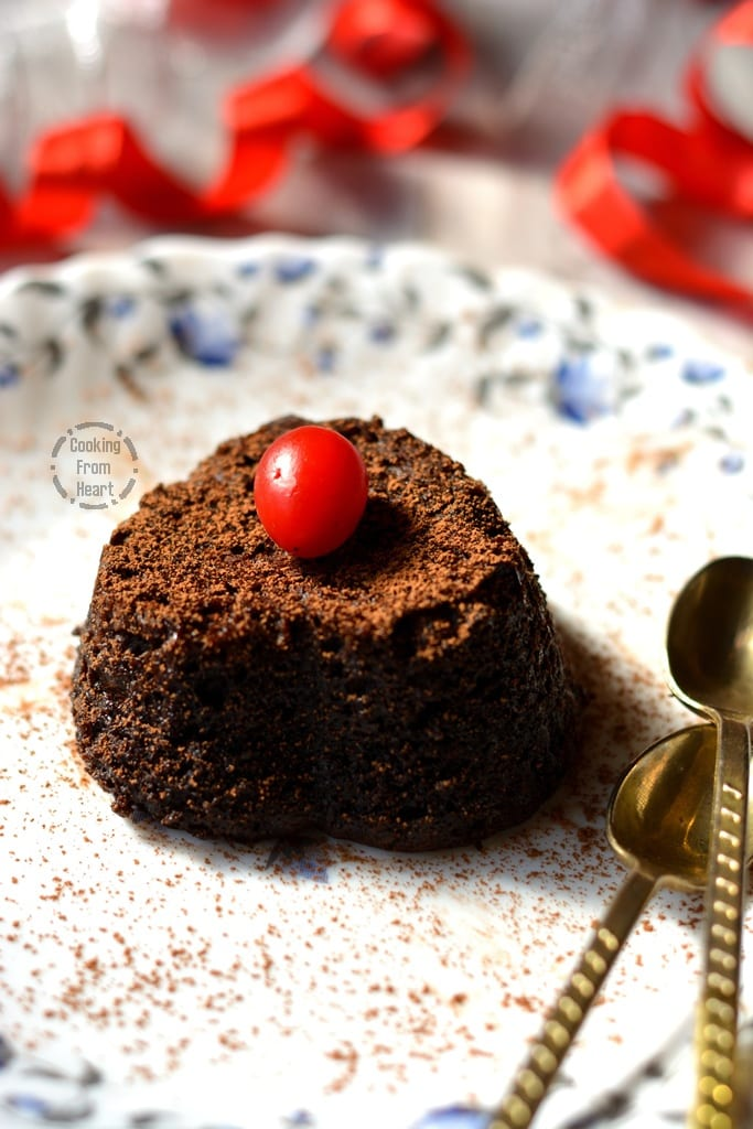 How To Make Choco Lava Cake Without Egg