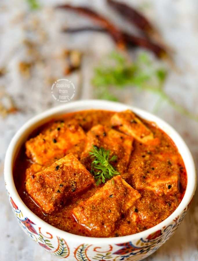 Achari Paneer | Paneer Curry with Pickling Spices