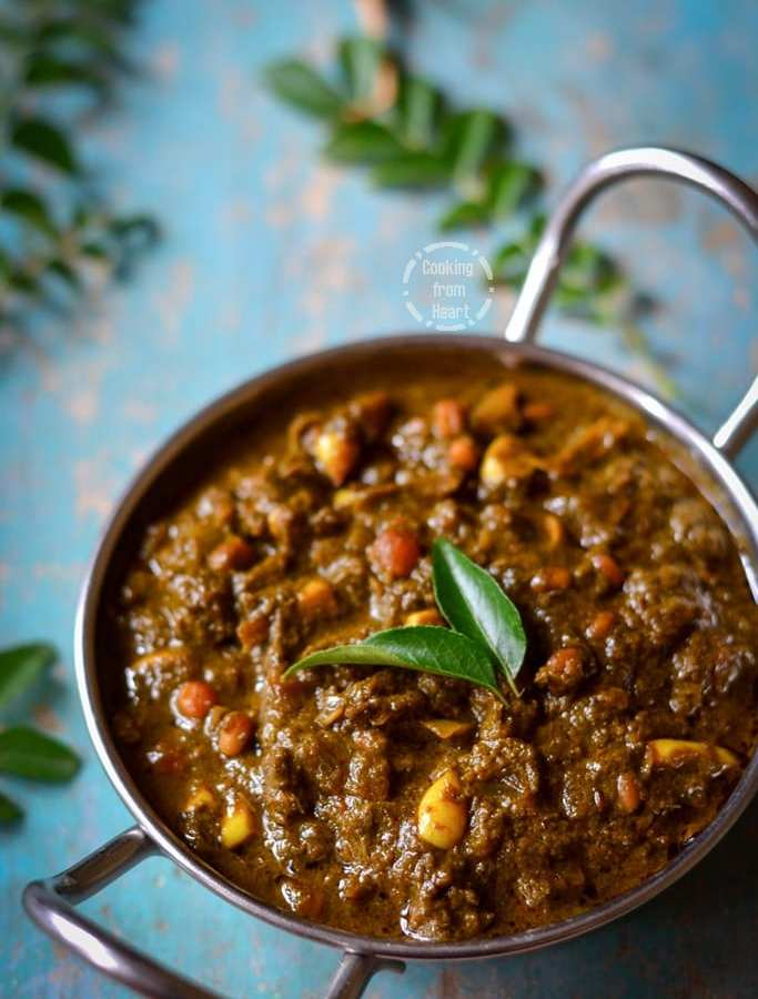 Karuveppilai Kuzhambu | Curry Leaves Kulambu