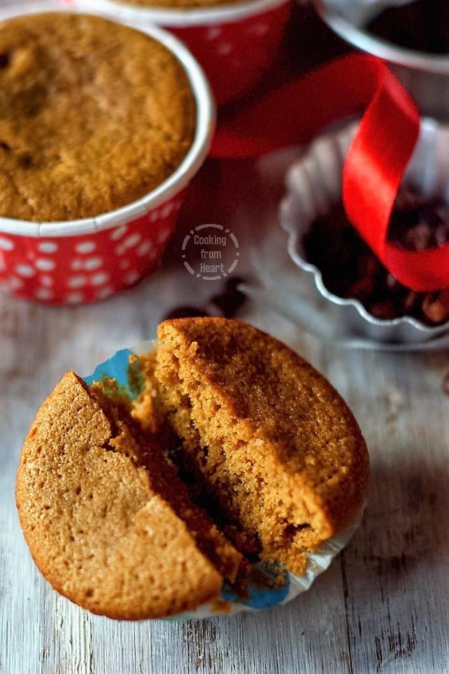 Eggless Coffee Cupcakes