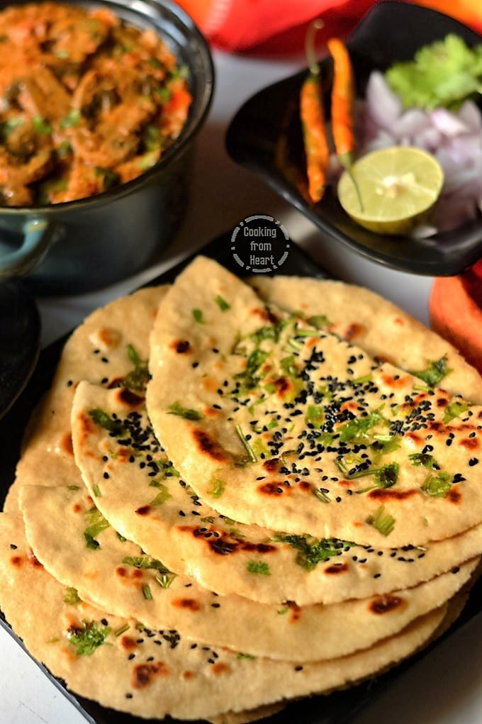 Instant Wheat Kulcha
