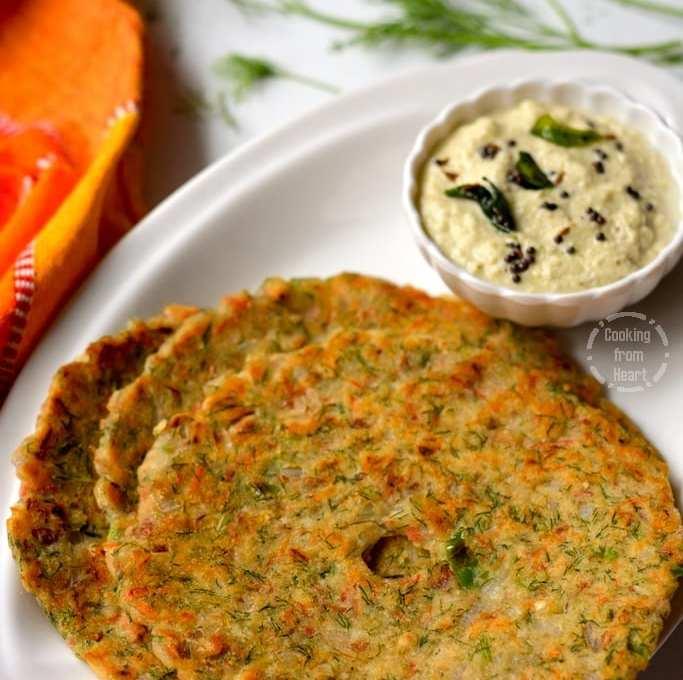 Akki Roti   Karnataka Akki Rotti   Rice Roti