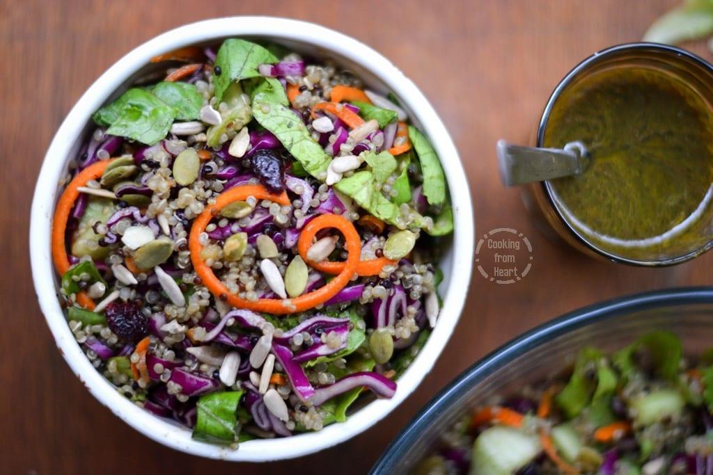 Quinoa Lettuce Salad