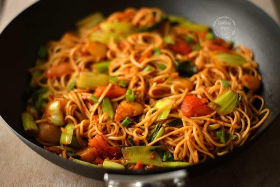 Vegetable Mamak Mee Goreng