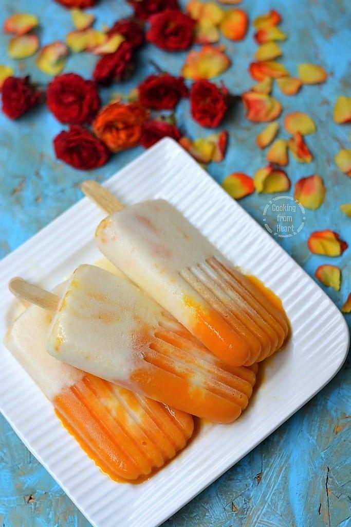Mango Duet Ice Cream
