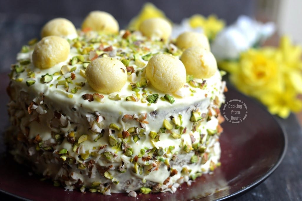 Simple Eggless Cake Recipe