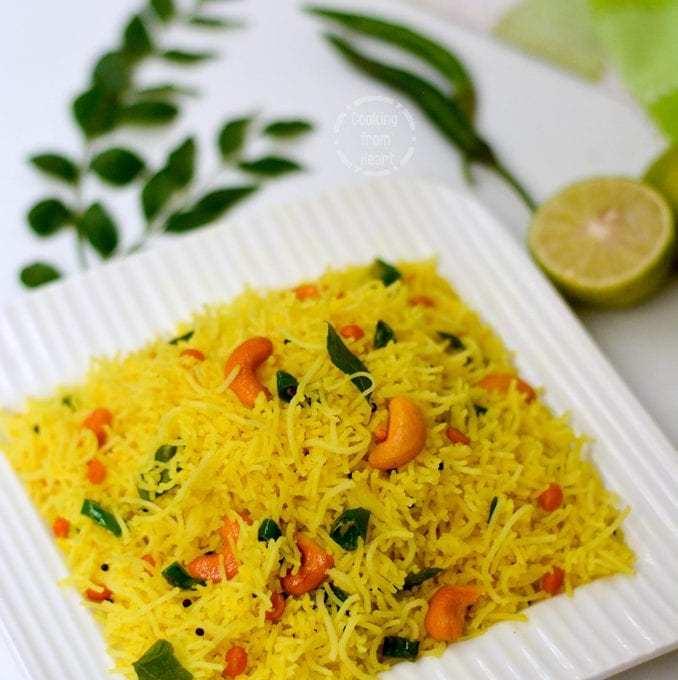 Lemon Sevai | Lemon Idiyappam