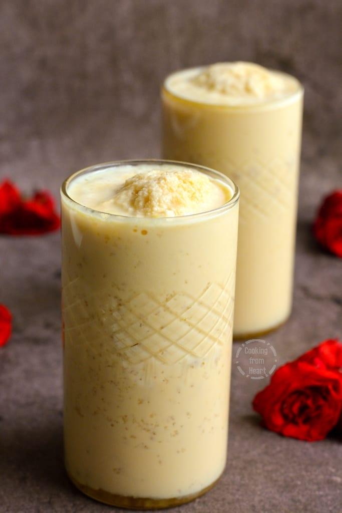Homemade Jigarthanda recipe
