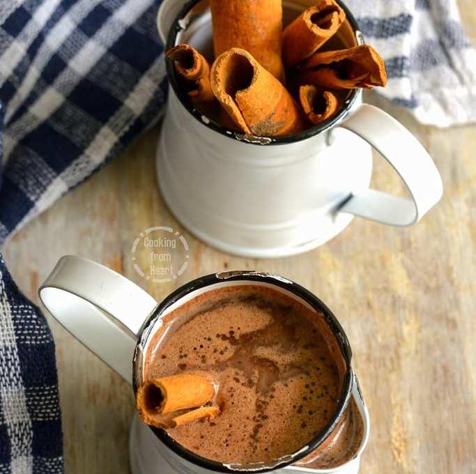 Cinnamon Hot Chocolate | Cinnamon Hot Cocoa