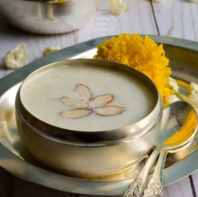 Elaneer Payasam | Tender Coconut Payasam