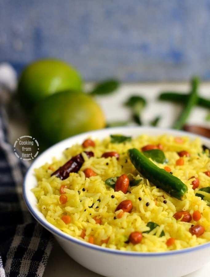 Mamidikaya Pulihora | Mango Rice