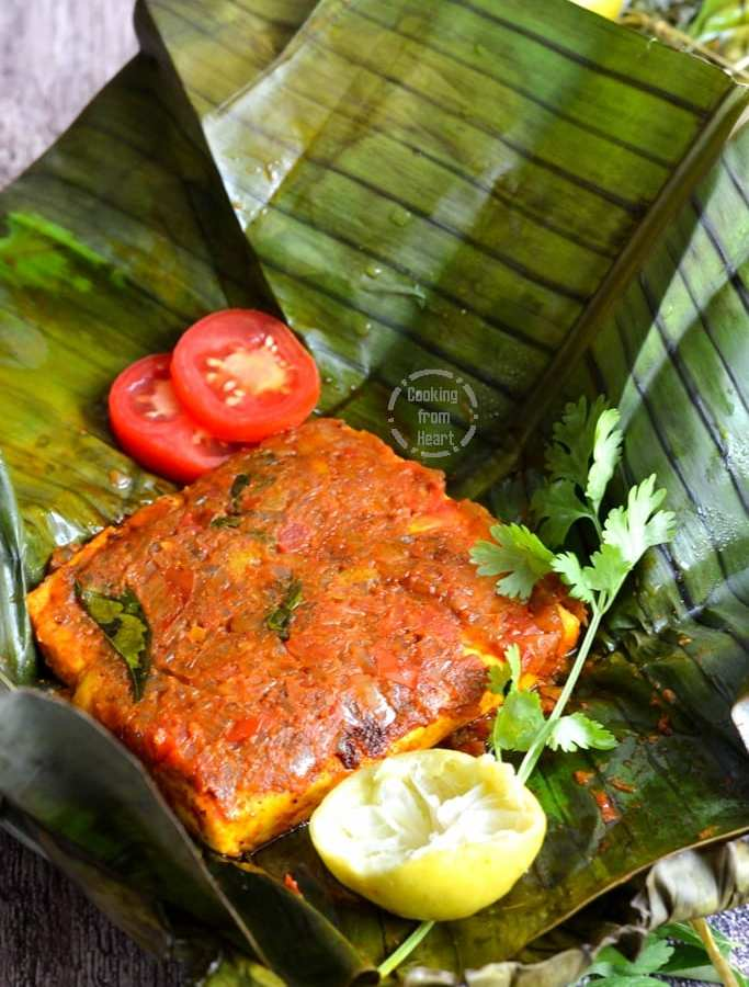 Paneer Pollichathu | Kerala Style Paneer Pollichathu