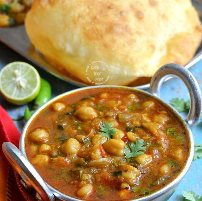 Pressure Cooker Chole Recipe   Quick Punjabi Chole