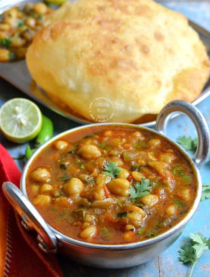 Pressure Cooker Chole Recipe | Quick Punjabi Chole