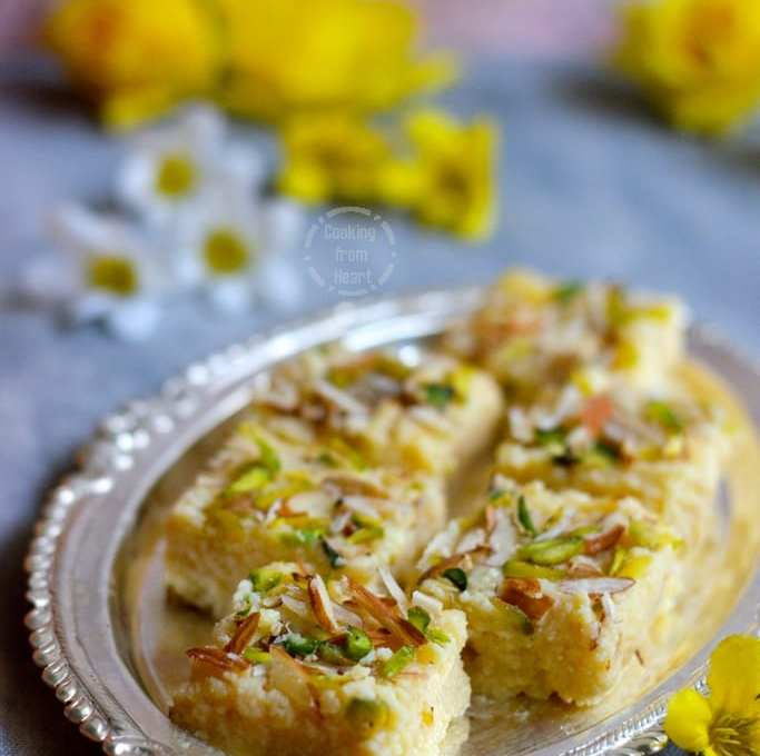 Kalakand | Easy Kalakand Recipe