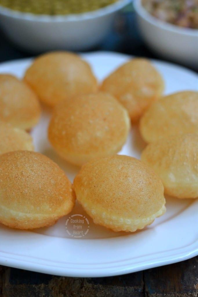 Sooji Golgappa Recipe