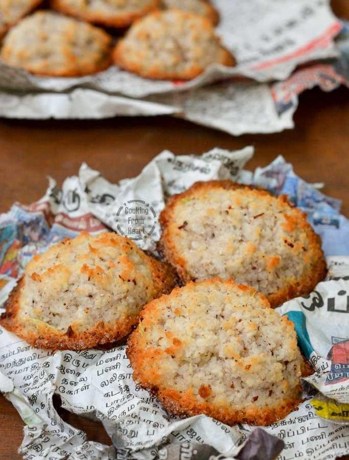 Thengai Biscuit | Coconut Macaroon | Coconut Biscuit