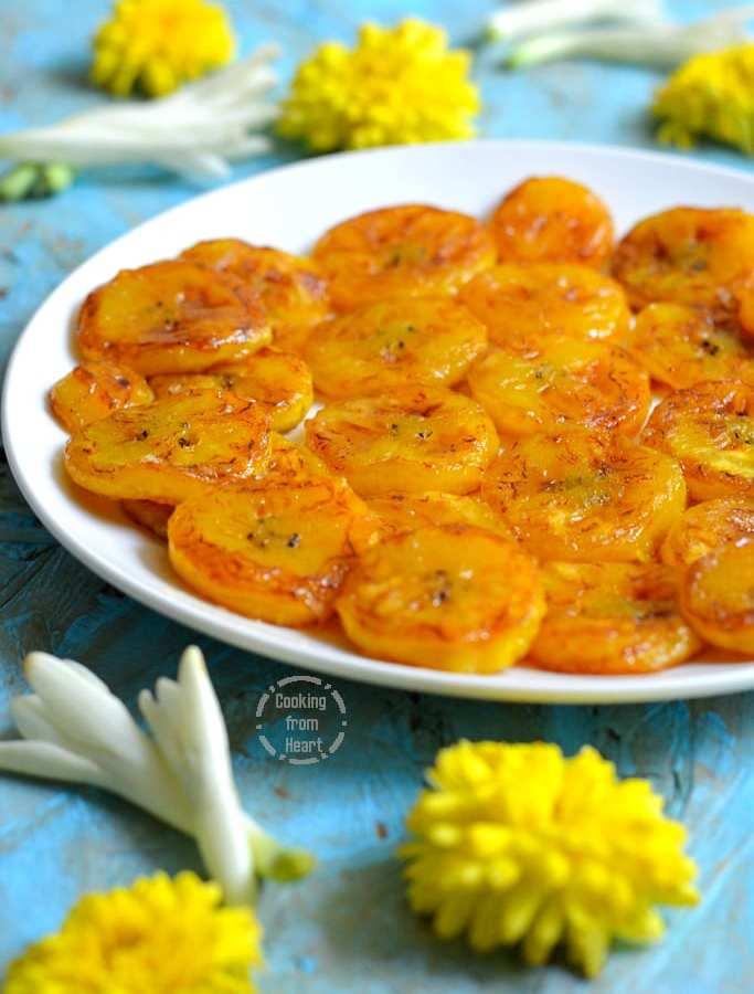 Nendran Ghee Roast | Banana Ghee Roast