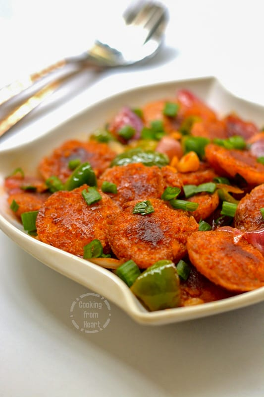 Chilli Idli | Low Calorie Chilli Idli Fry