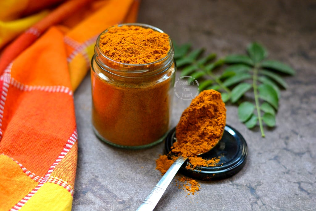Homemade Sambar Powder