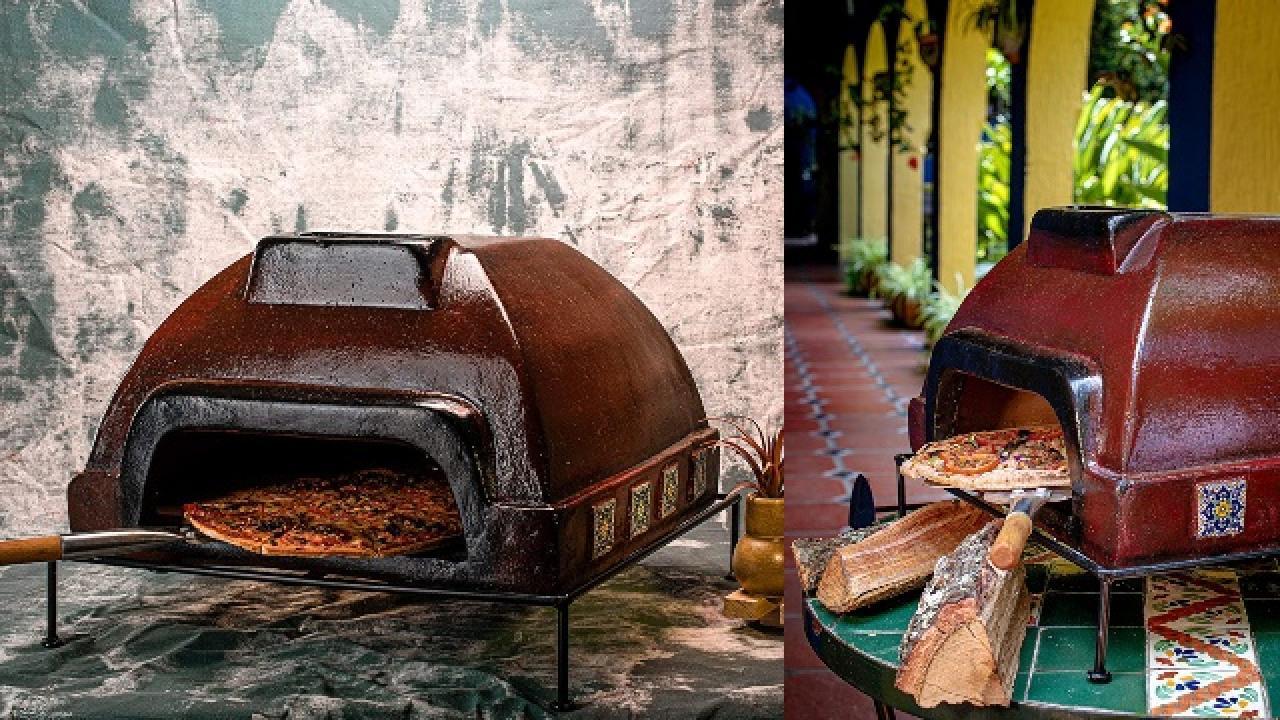 etna wine talavera tile pizza oven