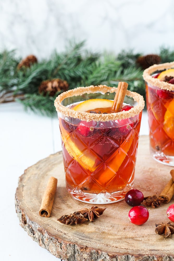 Spiced Winter Punch | cookinginmygenes.com