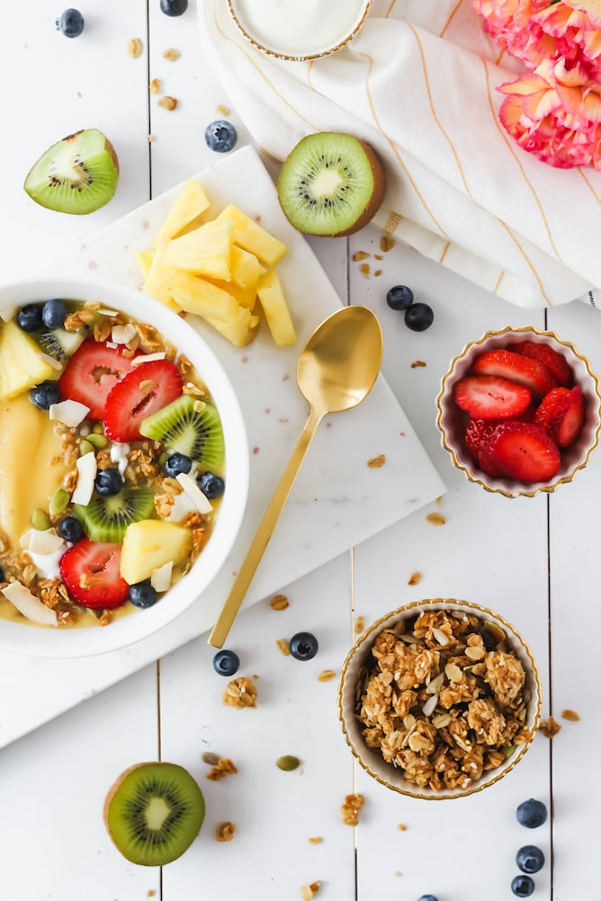 Aloha Breakfast Bowl | cookinginmygenes.com