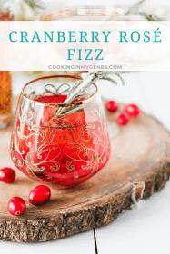 Cranberry Rosé Fizz