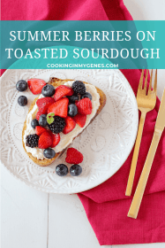 Summer Berries on Toasted Sourdough