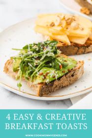 4 Easy & Creative Breakfast Toast Recipes You'll Love