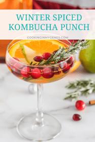 Winter Spiced Kombucha Punch