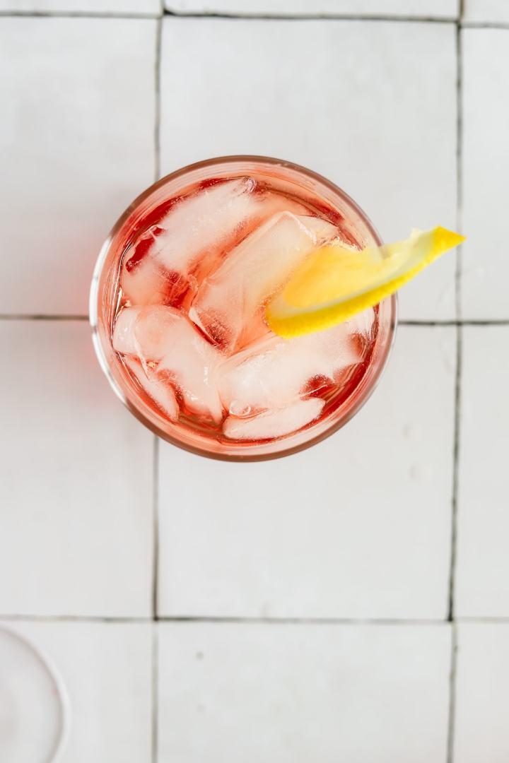 Campari Rosé Spritz Cocktail