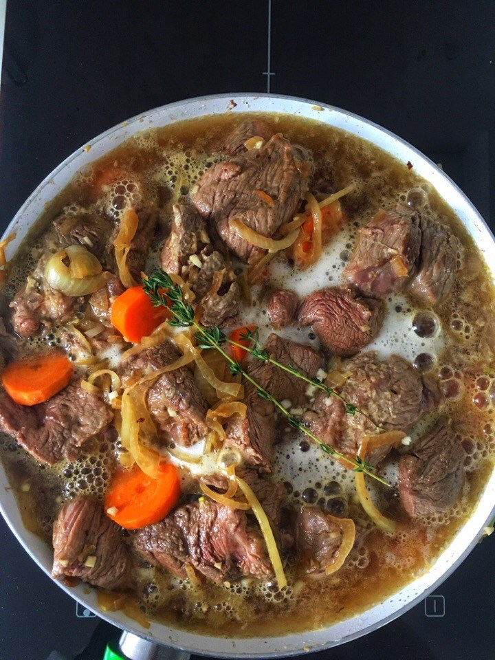 Beef Stewed in Beer