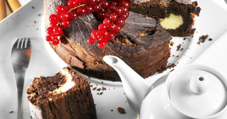 Chocolate Cake with Mascarpone