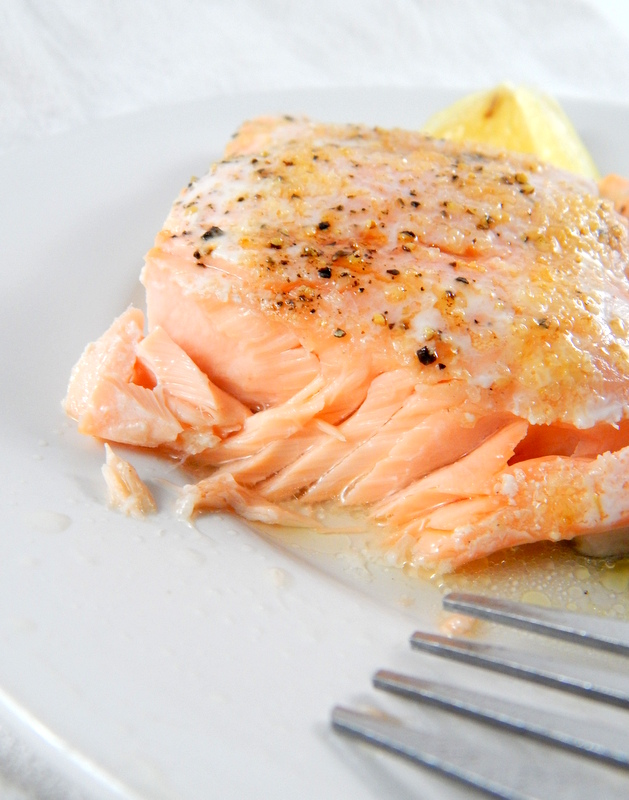 Easy baked salmon cooking is messy baked salmon ccuart Image collections