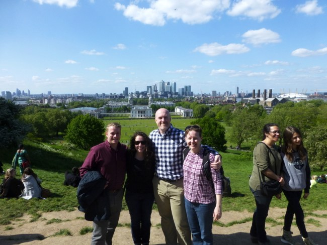 Group at Greenwich