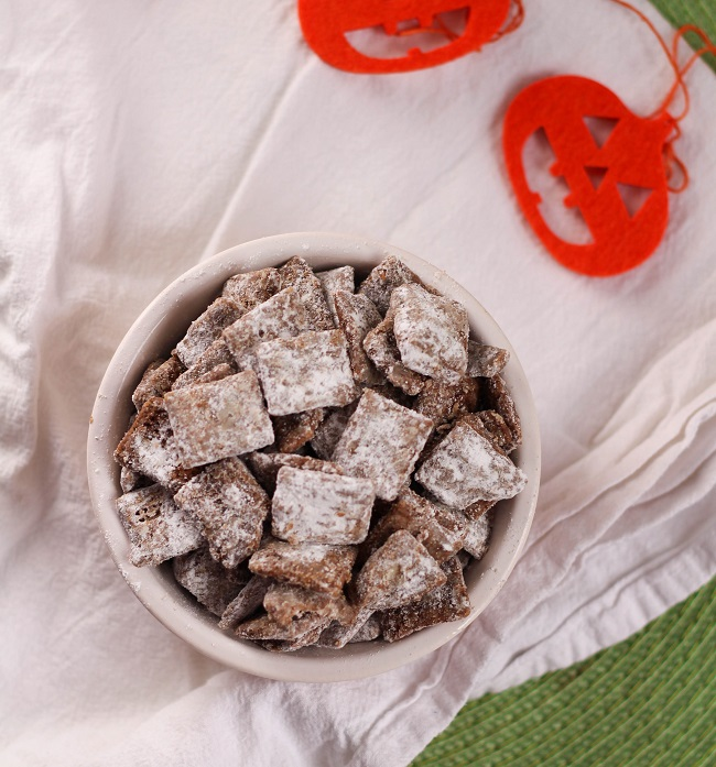 Pumpkin Puppy Chow