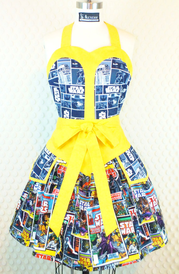 Star Wars Apron from Etsy
