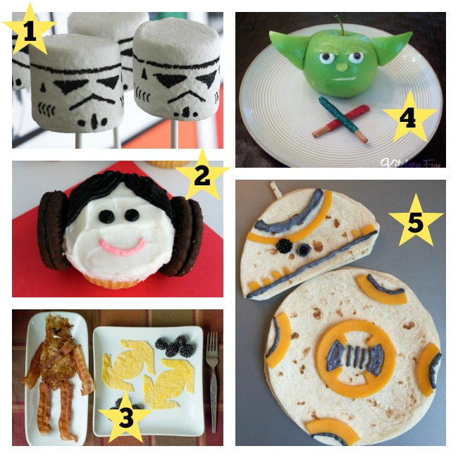 5 Star Wars Foods