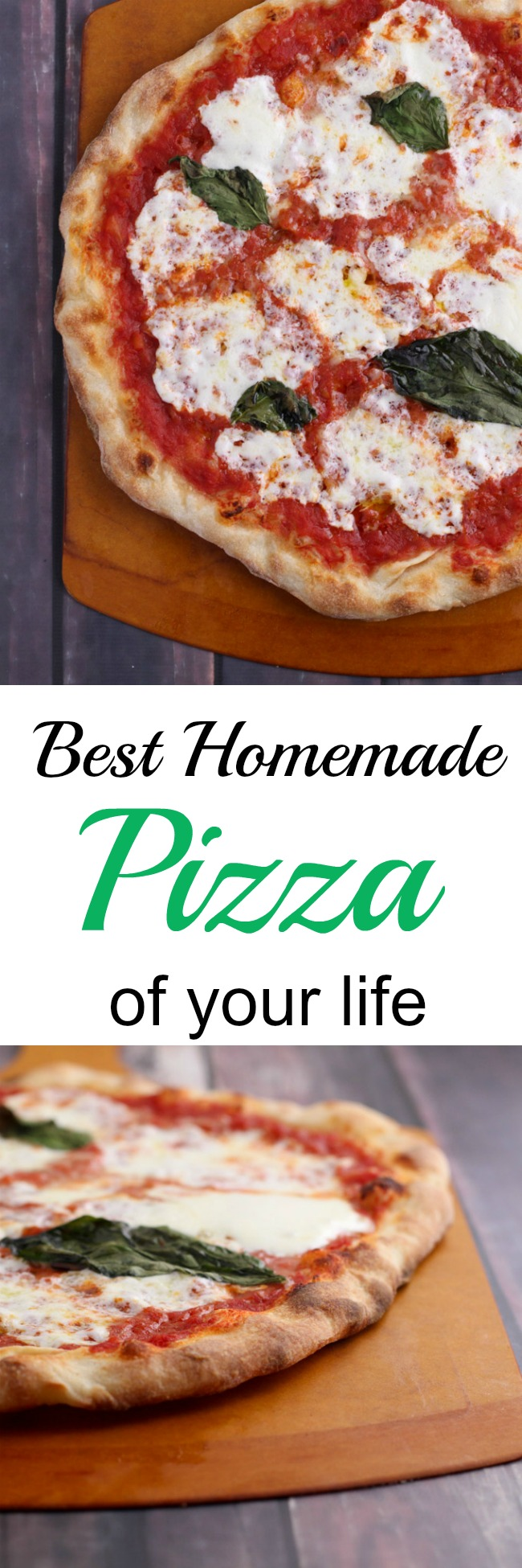 A perfect weekend recipe for pizza that will change your life. It takes some time and effort, but it's worth is and your friends and family will love making it with you! www.cookingismessy.com