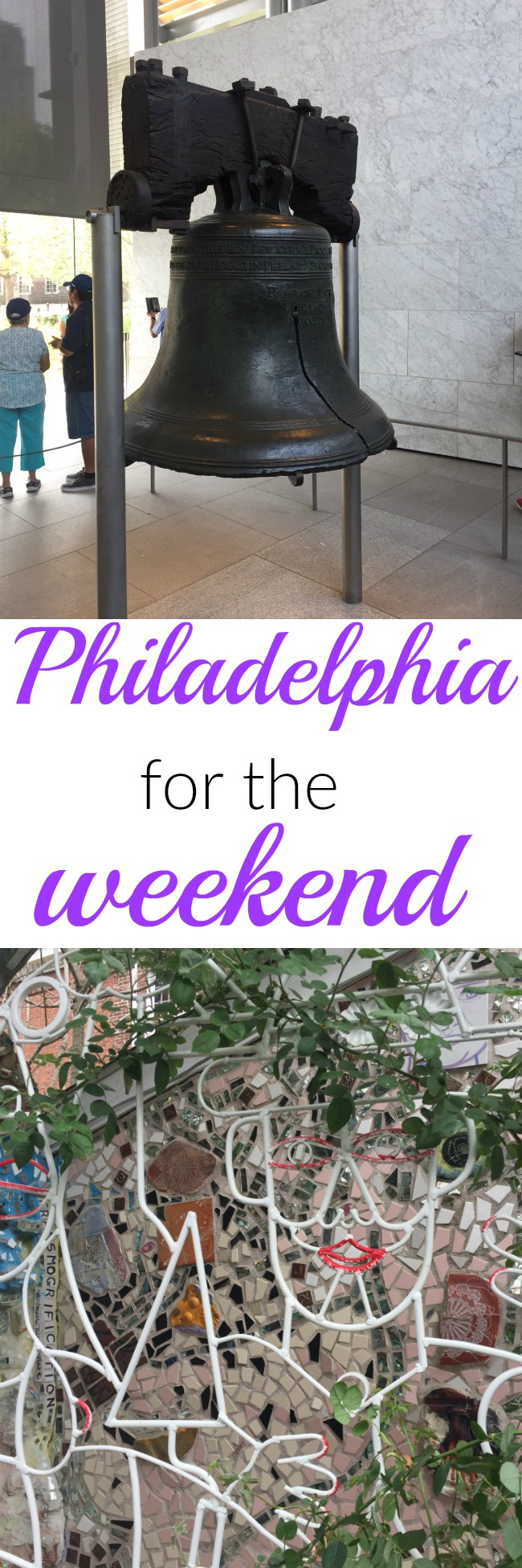 Lots to do during a weekend in Philadelphia. Check out this post for ideas on where to eat, historic sites to visit, and places to see amazing art. www.cookingismessy.com