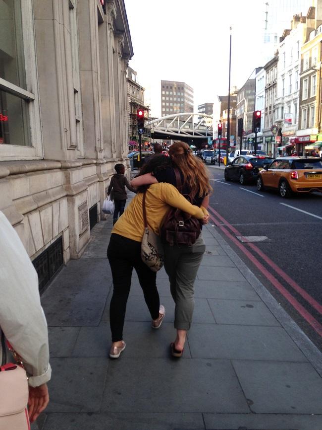 Mariel and Sarah