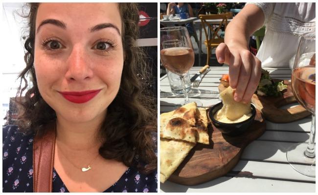Lipstick and Wine