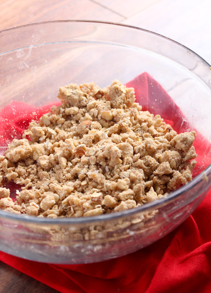 Cherry Crumble Topping