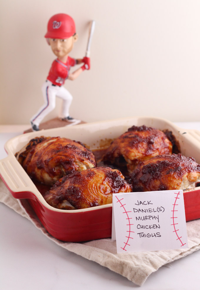 Daniel Murphy Chicken Thighs - Nationals Playoff Party Foods