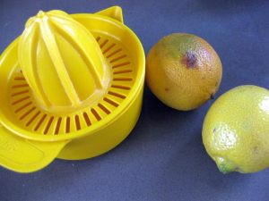 Lemons and Juicer